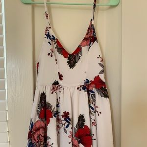 LF- SEEK the label white floral romper